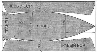 Упрощенный вариант чертежа основных деталей