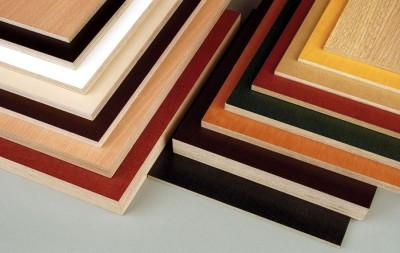 Фанера для мебели в разных цветах