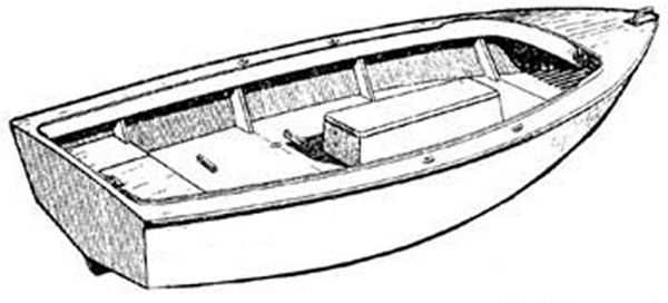 Легкая лодка из фанеры для рыбалки и охоты