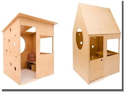 Примеры домиков из фанеры для ребёнка