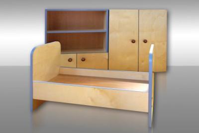 Кровать и шкаф своими руками