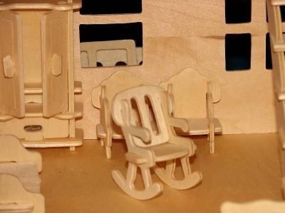 Кукольная мебель из фанеры в ассортименте