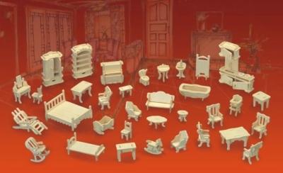 Фотография готовой мебели из книги