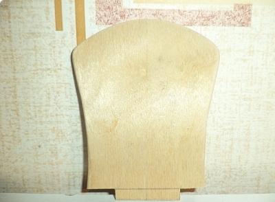 Подготовка отдельных элементов мебели