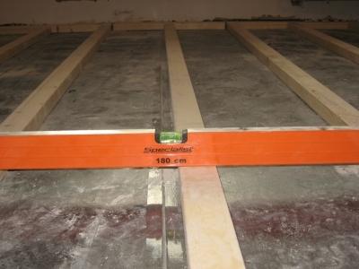 Использование строительного уровня