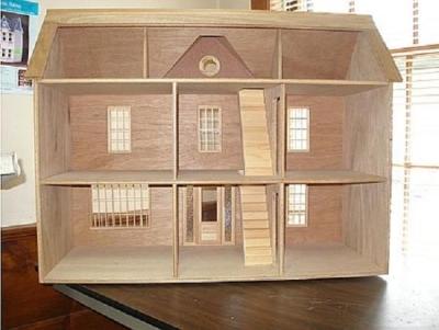 Фанерный домик для Барби
