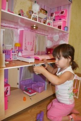 Фанерная среда обитания для игрушек