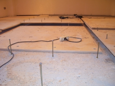 Подложка под фанеру на деревянный пол