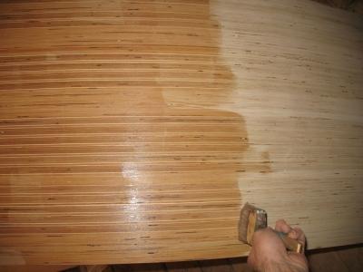Защита фанерных плит от влажных сред