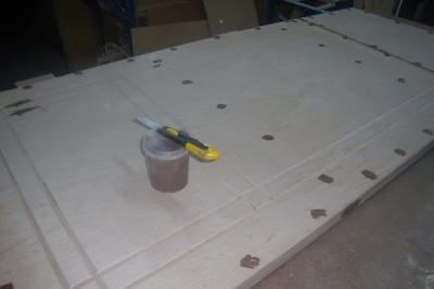 Шпаклевка трещин и прочих отверстий