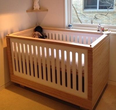 Кроватка из фанеры