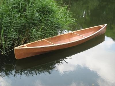 Лодка из фанерных панелей