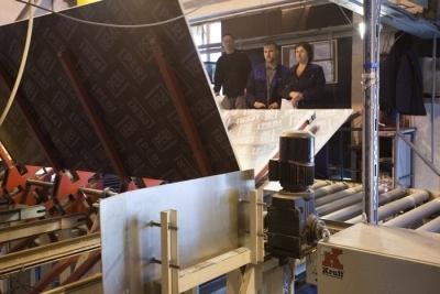 Процесс производства фанеры