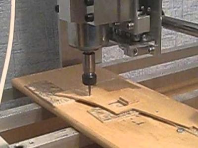 Выкройка фанерных панелей на ЧПУ