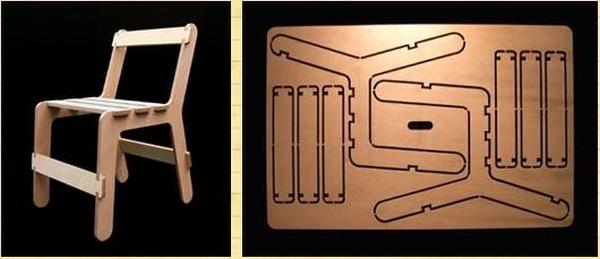 Разработка фанерного стула