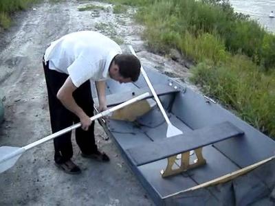 Простая самодельная лодка из фанеры