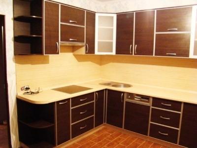 Готовая фанерная кухня