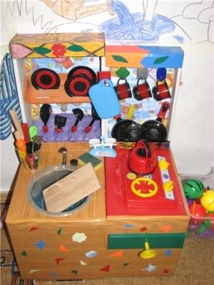 Готовая кухня для детей