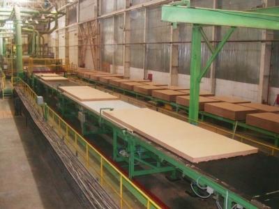 Производство плит ДВП