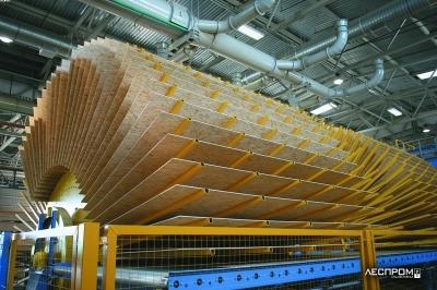 Производство плит ОСП