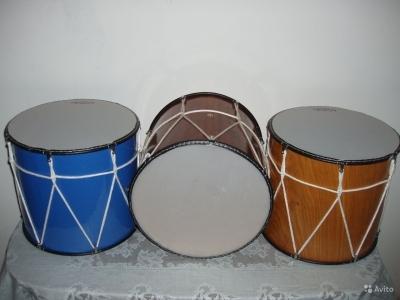 Барабаны из фанеры