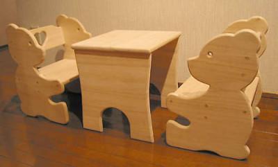 Детский стульчик из фанеры