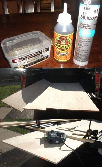 Инструменты для изготовления фанерной лодки