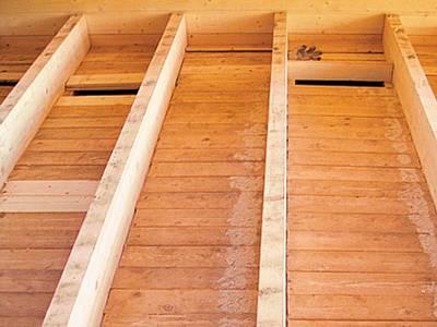 Лаги на деревянный пол