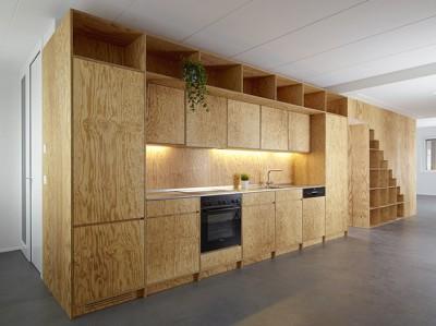 Материал применен для изготовления мебели