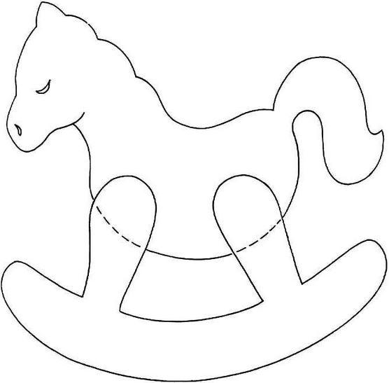 Схема детской игрушки лошадки